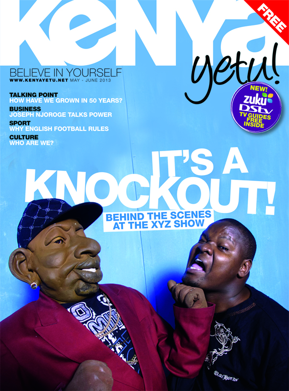 Kenya Yetu edition 5 Cover